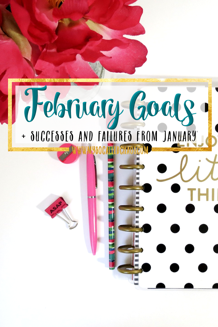 February Goals + January Successes & Failures