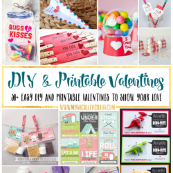 50+ Easy DIY and Printable Valentines
