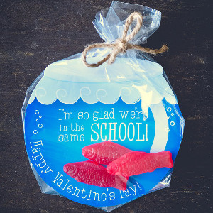 DIY Fishbowl Valentine