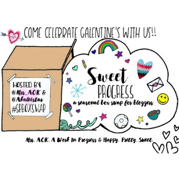 February Favorites: Sweet Progress Galentine's Box Swap at Happy Pretty Sweet