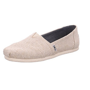 Natural Metallic Linen Toms