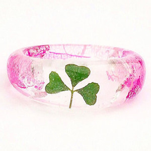 Real Lucky Clover Ring