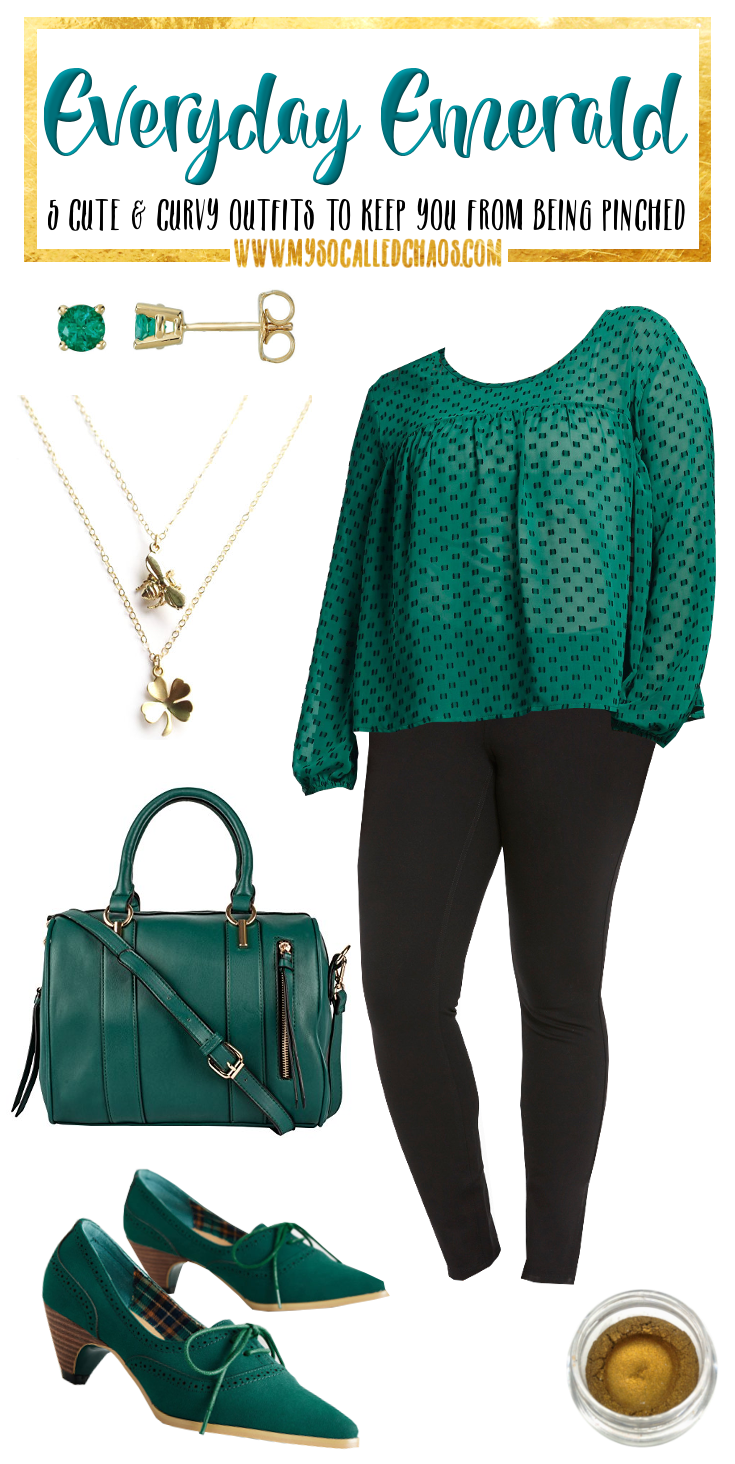 5 Curvy St. Patrick's Day Looks to Keep You From Getting Pinched: Everyday Emerald