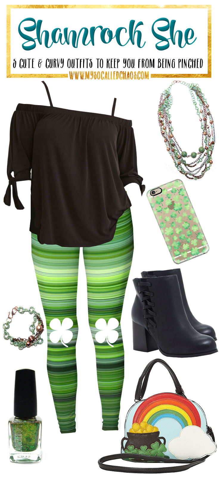 5 Curvy St. Patrick's Day Looks to Keep You From Getting Pinched: Shamrock She