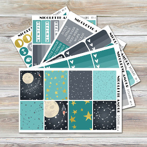 To The Moon Planner Kit