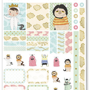 Wild Things Decorating Kit