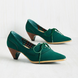 Exam Day Elegance Oxford Heel