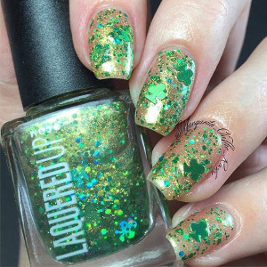 Celtic Clover Nail Polish