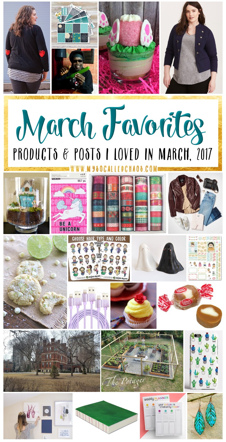 My 2017 March Favorites