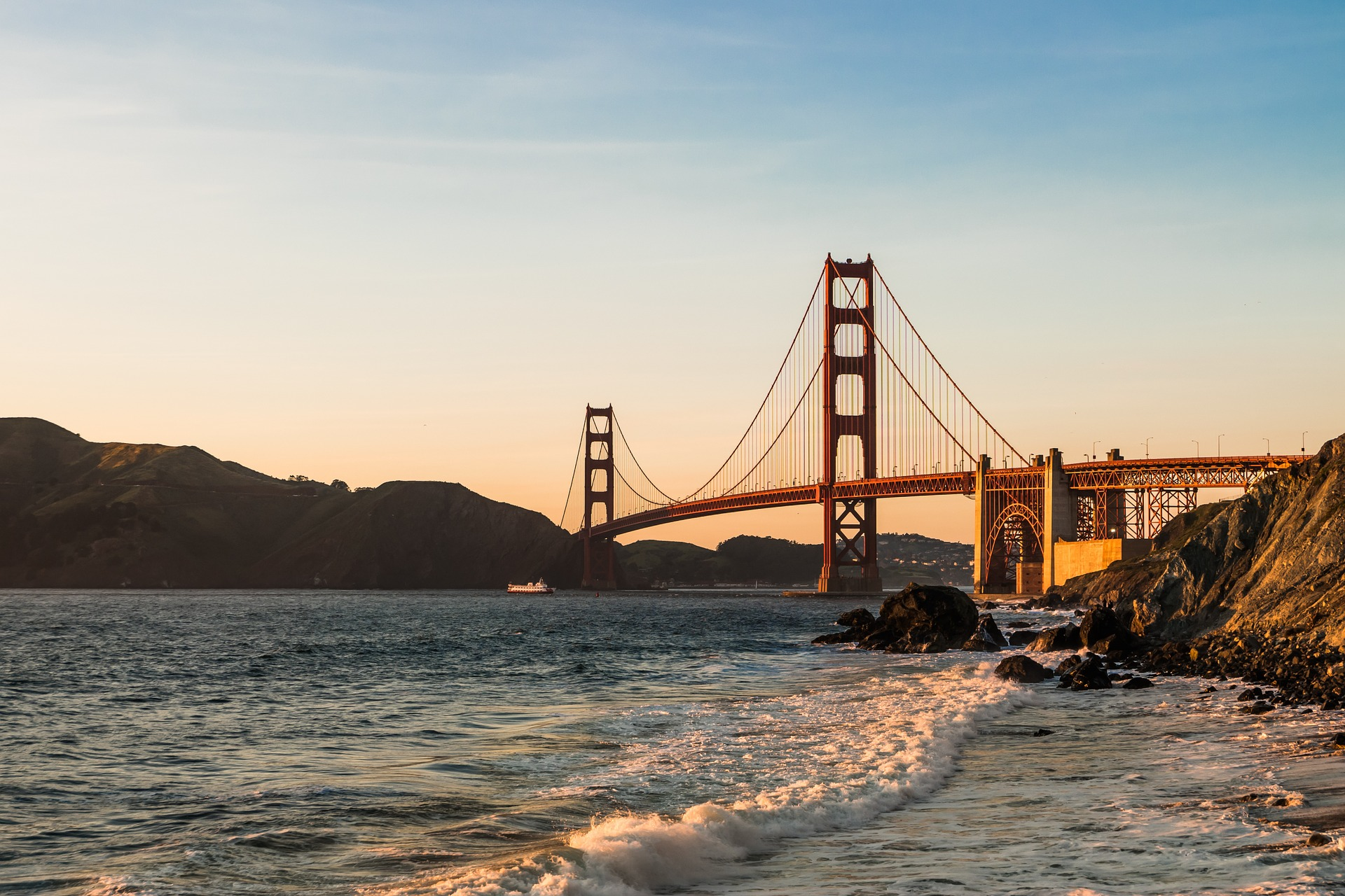 Great Places to Visit in the United States: The Golden Gate Bridge