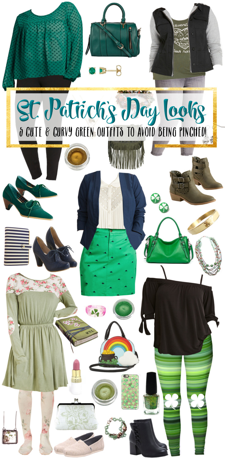 5 Curvy St. Patrick's Day Looks to Keep You From Getting Pinched