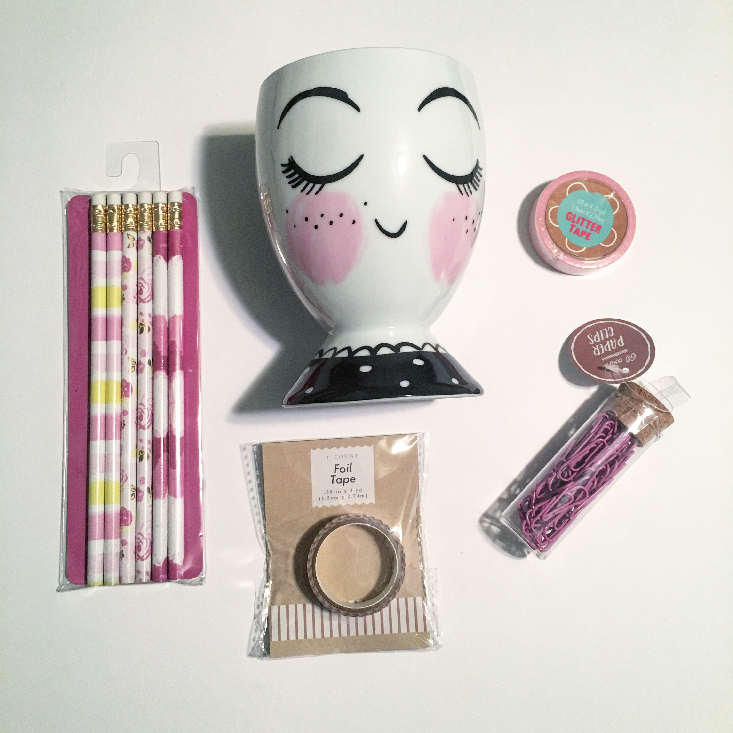 Pretty Purple Stationery Giveaway + THE Cup
