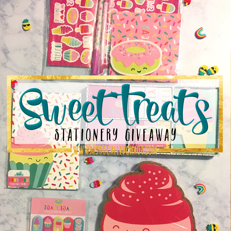Sweet Treats Stationery Giveaway