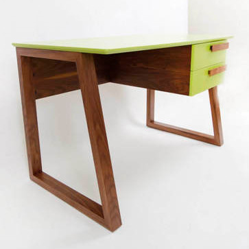Walnut Junior School Desk