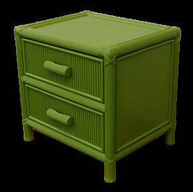 Vintage Palm Beach Style Nightstands