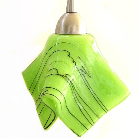 Green Pendant Light