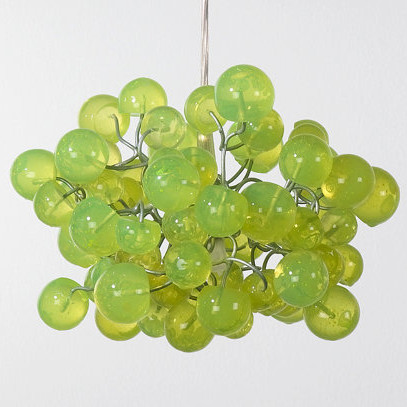 Green Bubbles Light Fixture