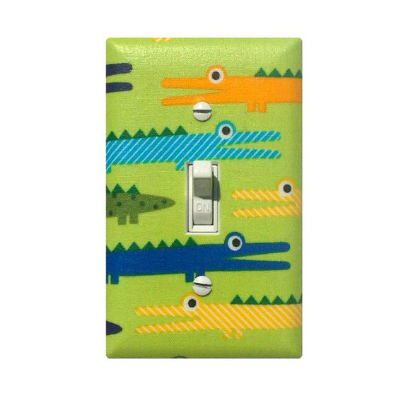 Alligator Light Switch Plate Cover