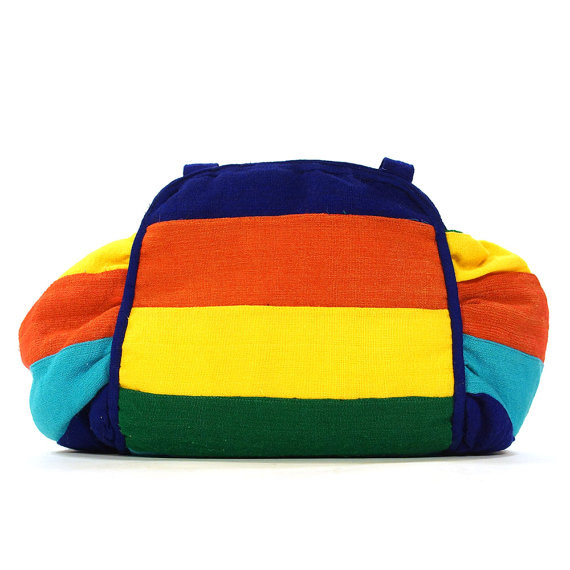 90s Vegan Rainbow Purse