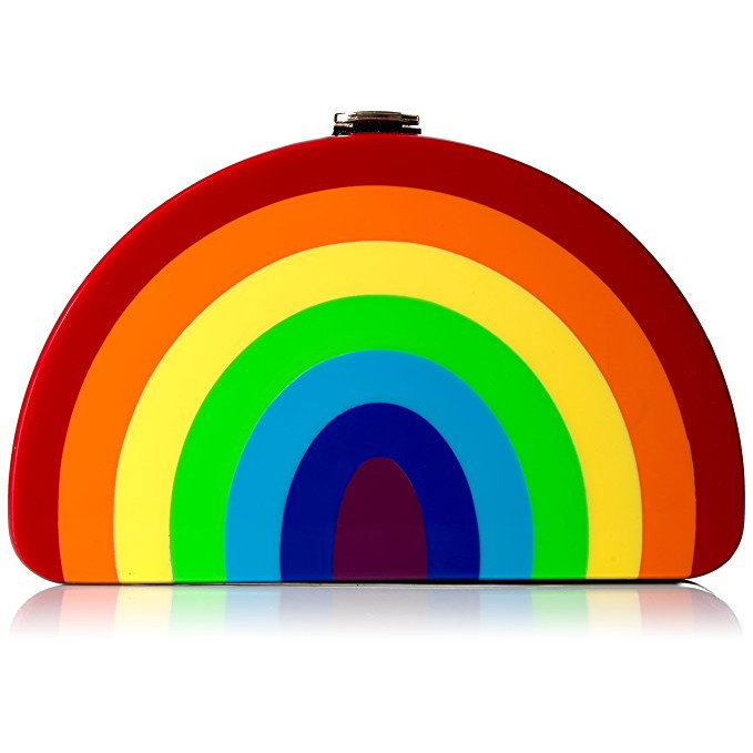 Rainbow Moon Clutch via Amazon