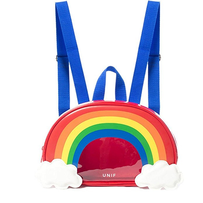 Zarapack Transparent Rainbow Backpack