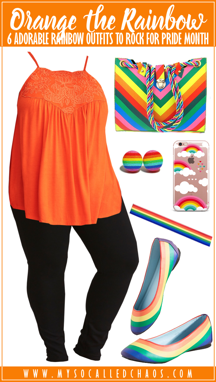 6 Adorable Rainbow Outfits to Rock for Pride Month (or Always): Orange the Rainbow