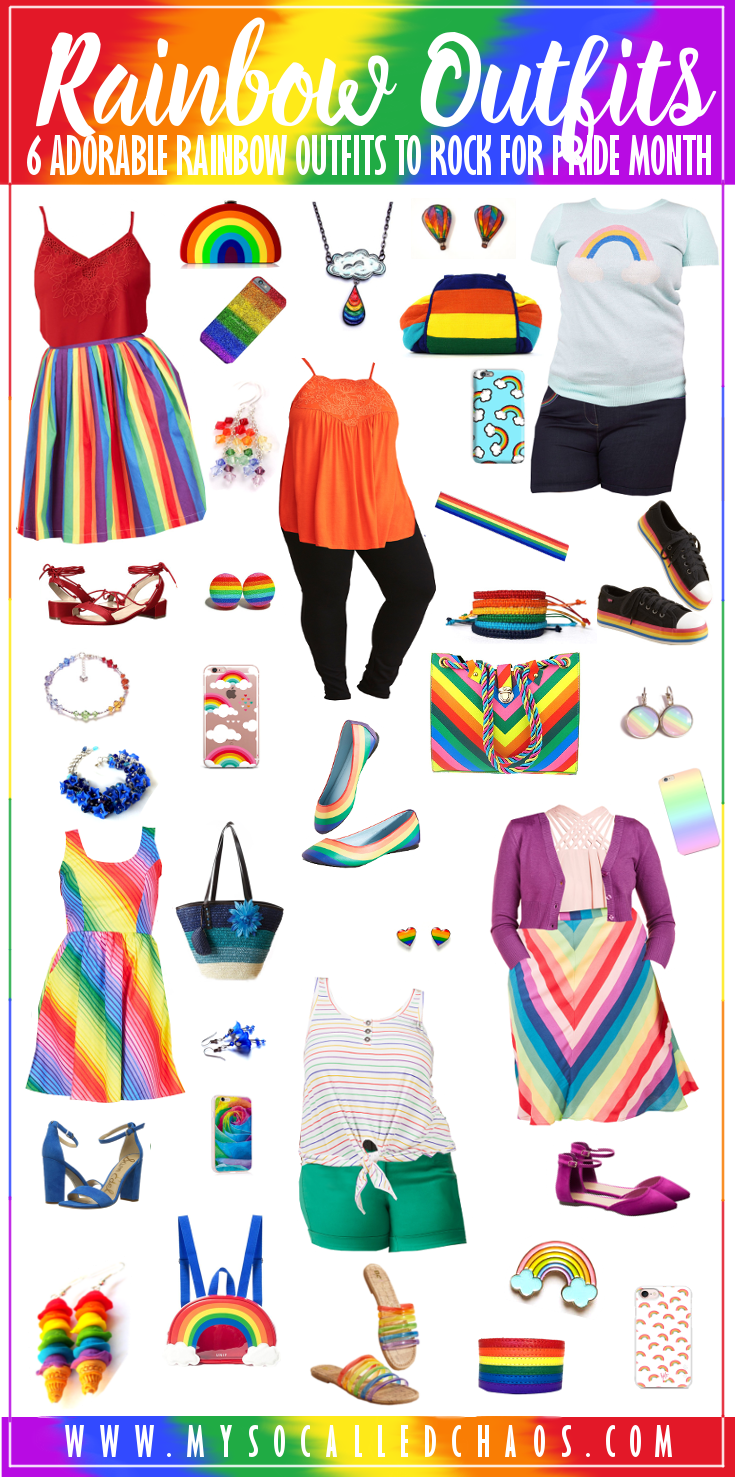 6 Adorable Rainbow Outfits to Rock for Pride Month (or Anytime!) - cute rainbow clothing