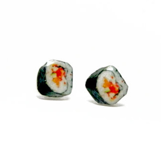 Sushi Stud Earrings