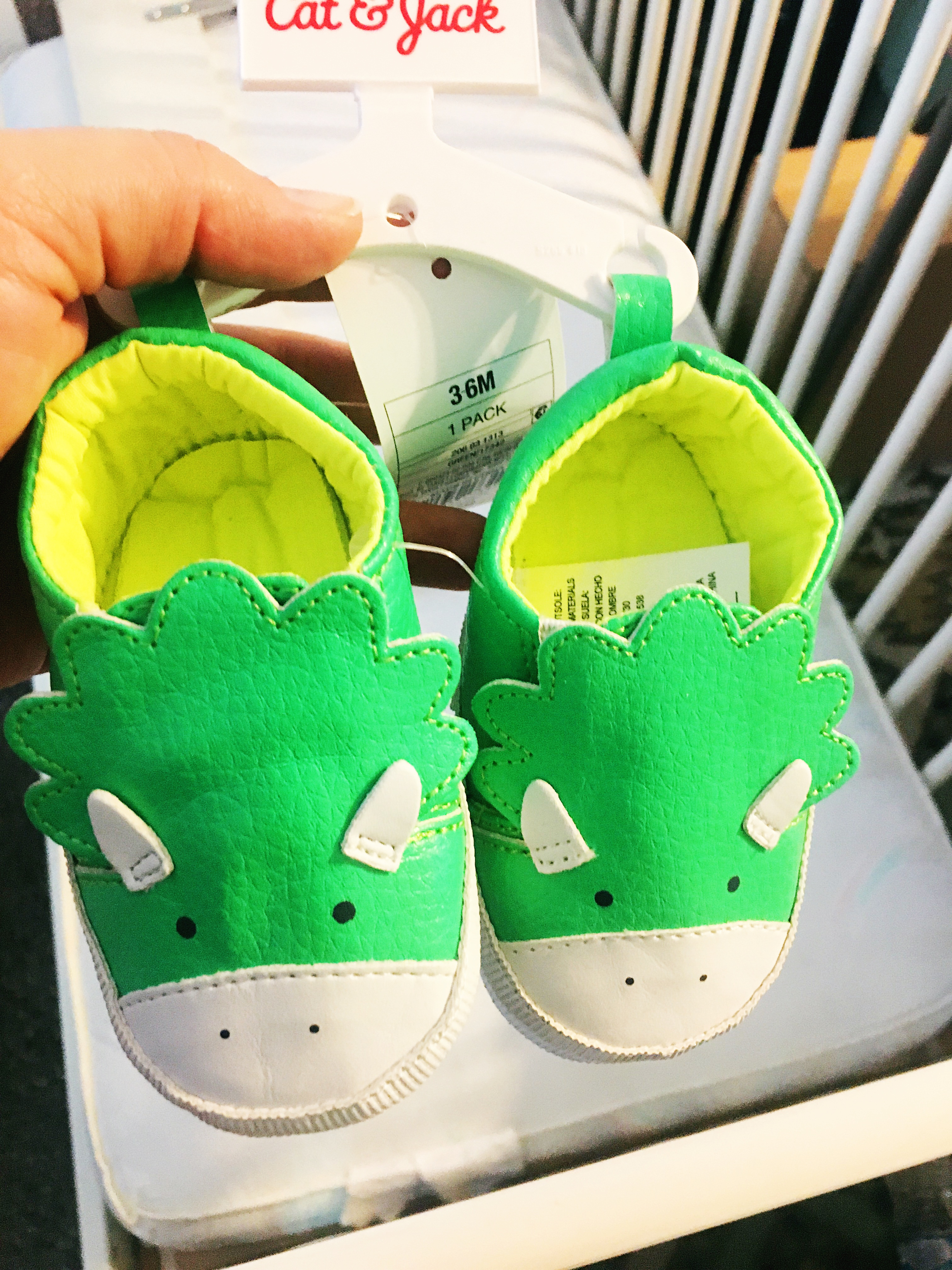 Cat & Jack Baby Dino Shoes