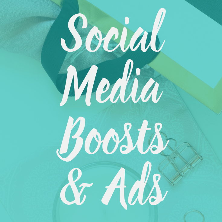 Social Media Boosts & Advertising
