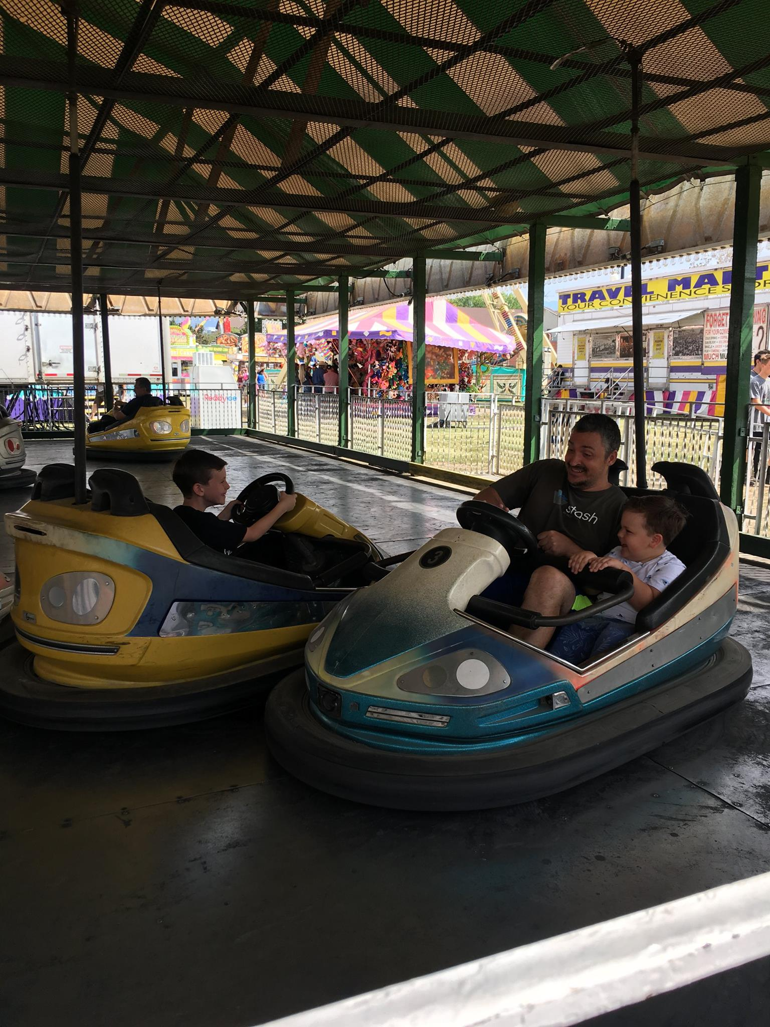 Bumper Cars at the State Fair