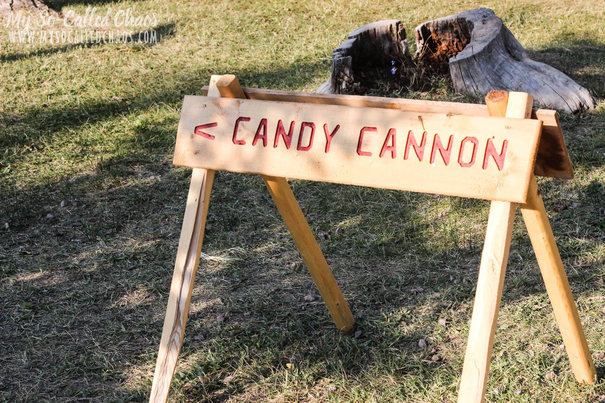 Fort Bridger Rendezvous Candy Canon