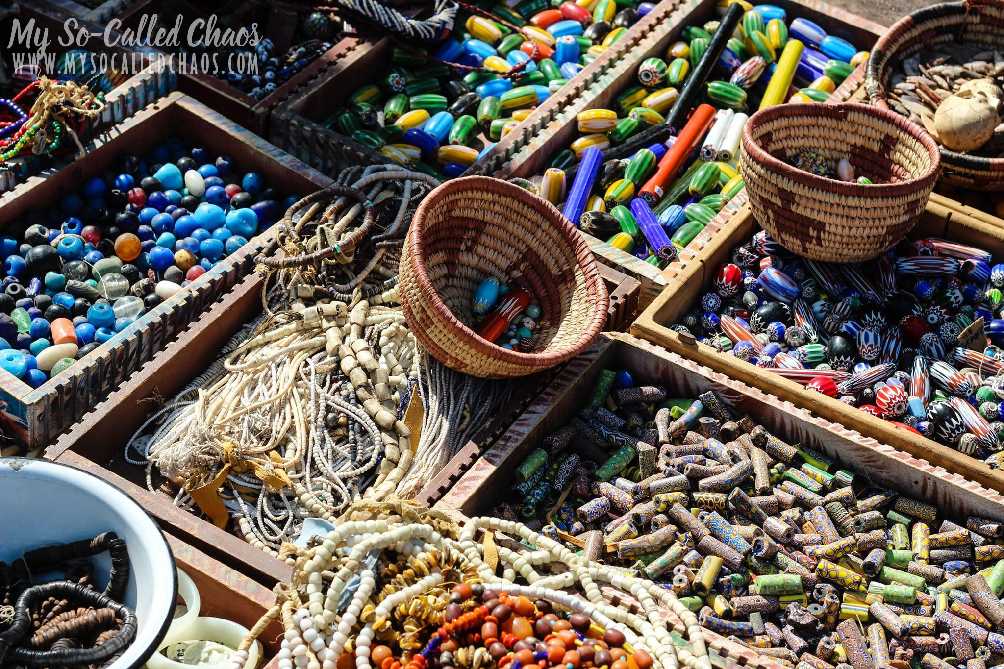 Beads at Fort Bridger Rendezvous