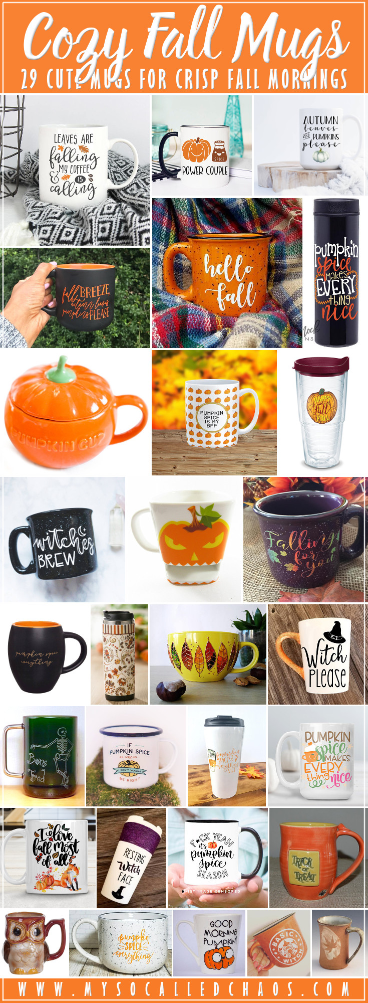 29 Cozy Fall Mugs You'll Love for Crisp Mornings
