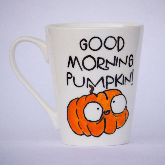 Good Morning Pumpkin Mug