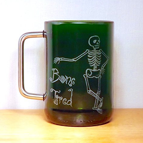 Bone Tired Bottle Mug
