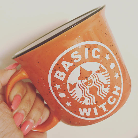 Basic Witch Campfire Mug