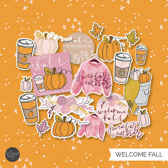 Welcome Fall Die Cuts