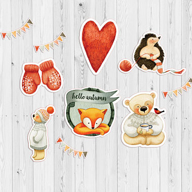 Autumn Charm Die Cuts