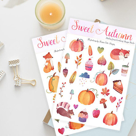 Sweet Autumn Stickers
