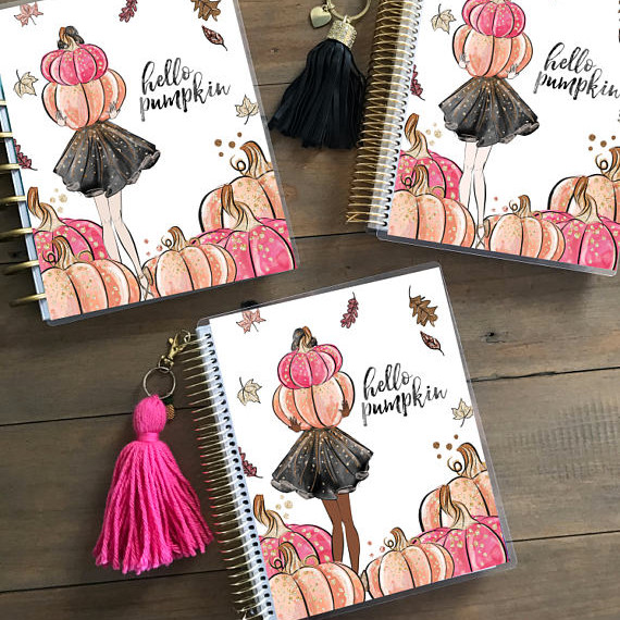 Hello Pumpkin Planner Cover