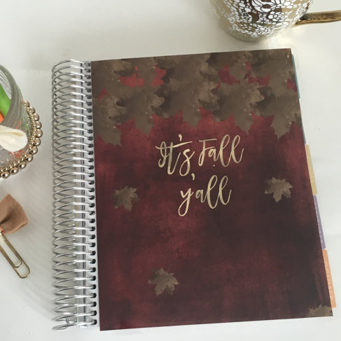 Fall Planner Cover