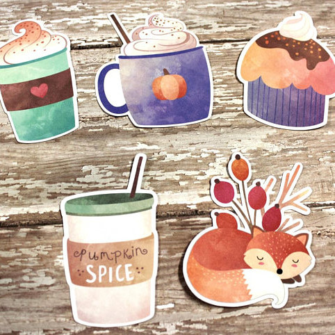 Pumpkin Spice Die Cut Set