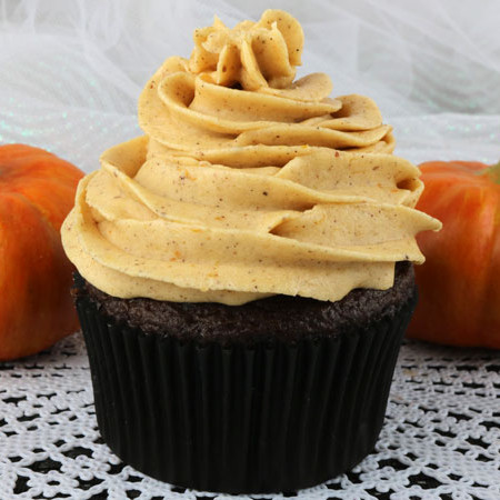 The Best Pumpkin Spice Butter Cream Frosting