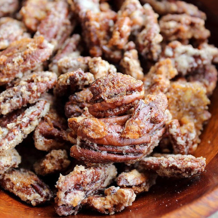 Pumpkin Spiced Pecans