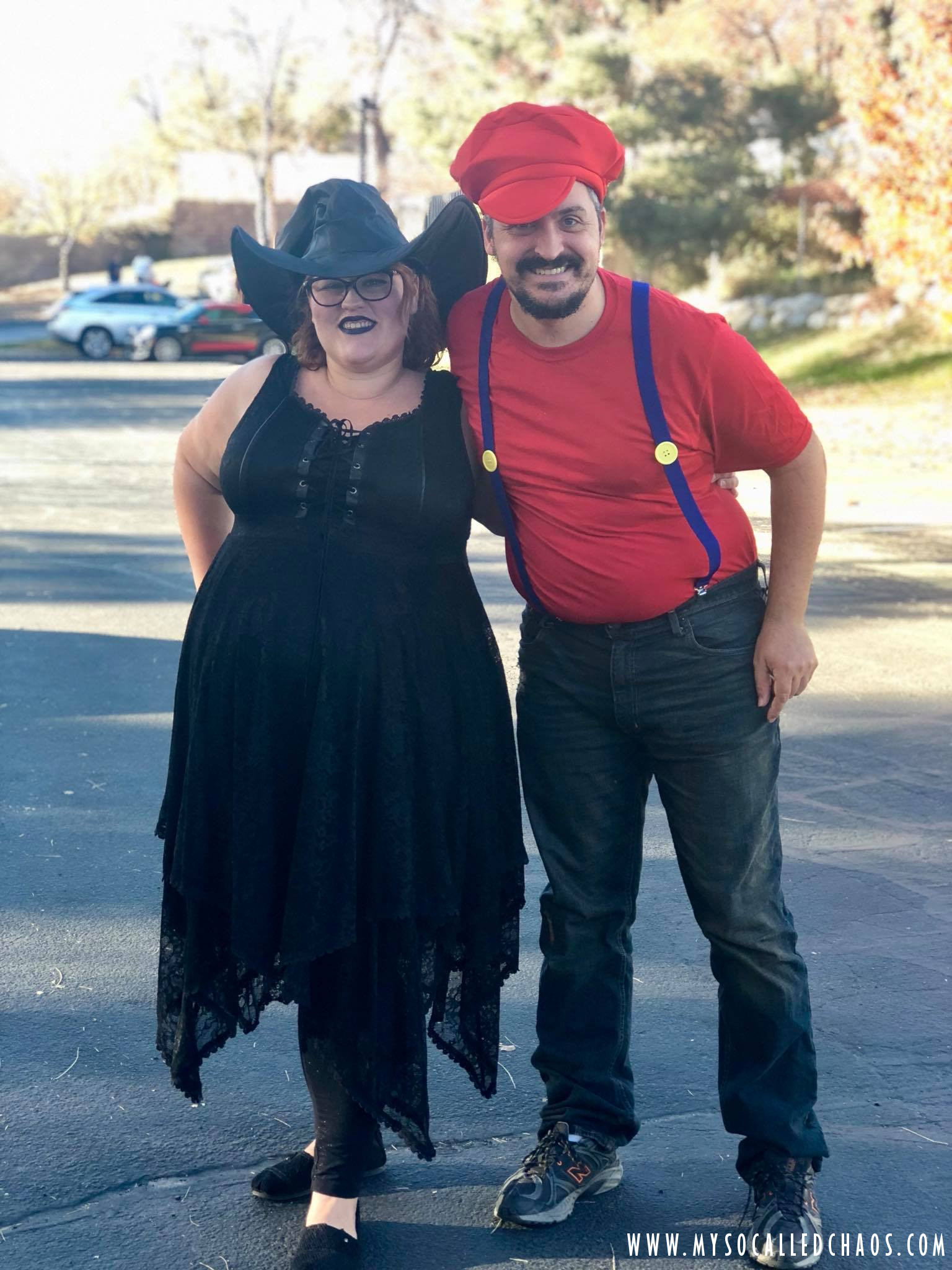 C and me for Halloween