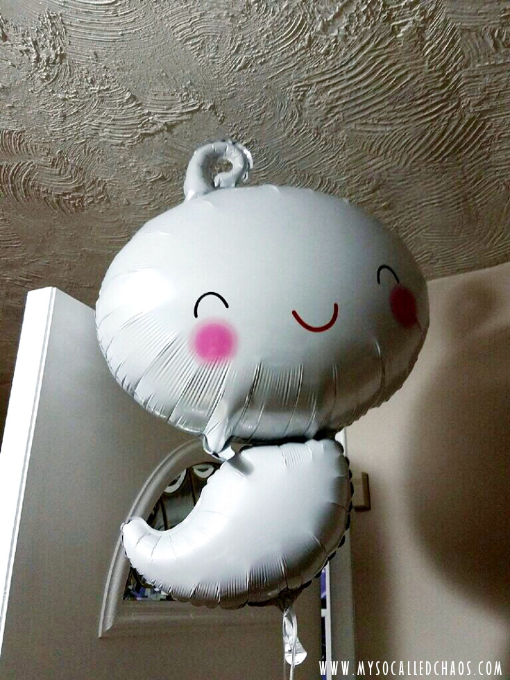 We saw this Ghost Balloon at Smiths and had to have it for the party! So perfect!