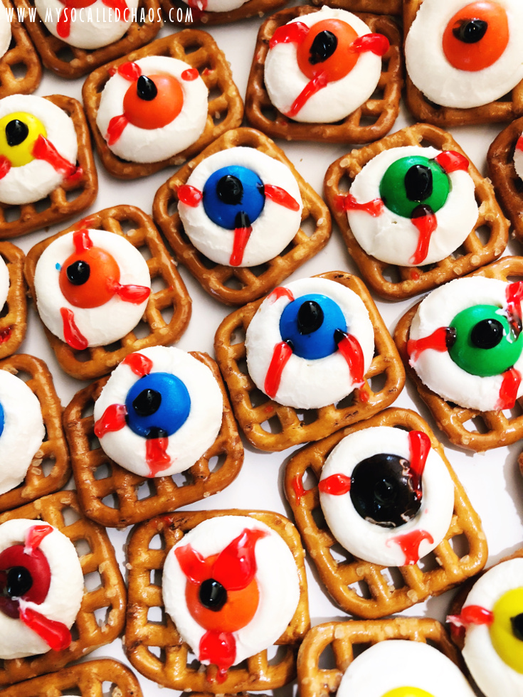Eyeball Party Snacks