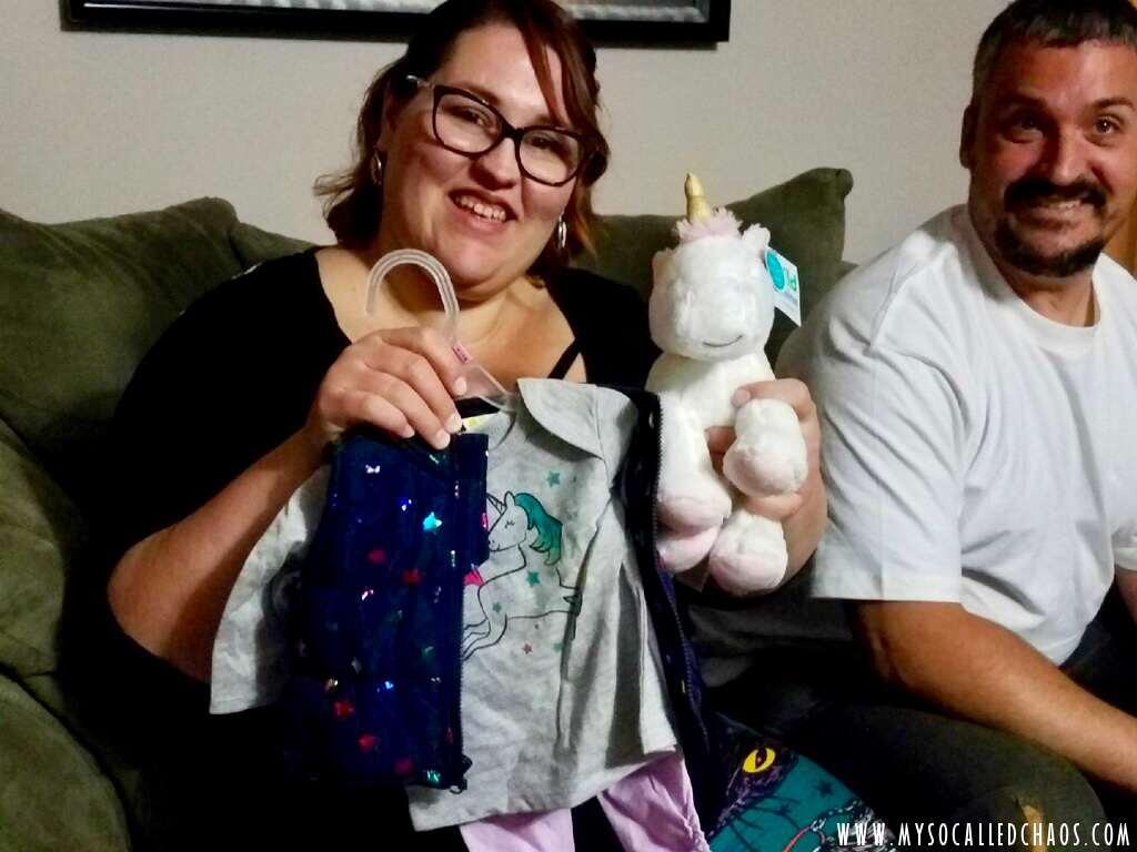 I'm dying over this Unicorn Outfit and Musical Plush from Cousin Monica.