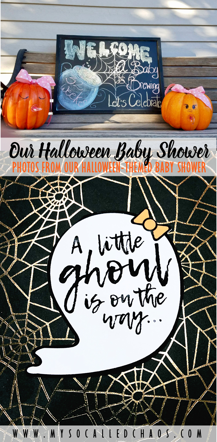 Our Halloween-Themed Baby Shower